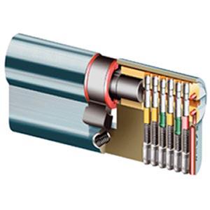 Detailfoto cylinderslot veiligheidscylinder met certificaat