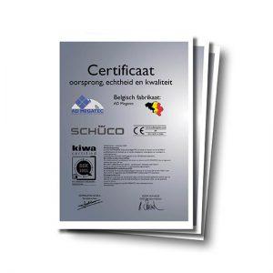 Belgisch fabrikaat certificaat