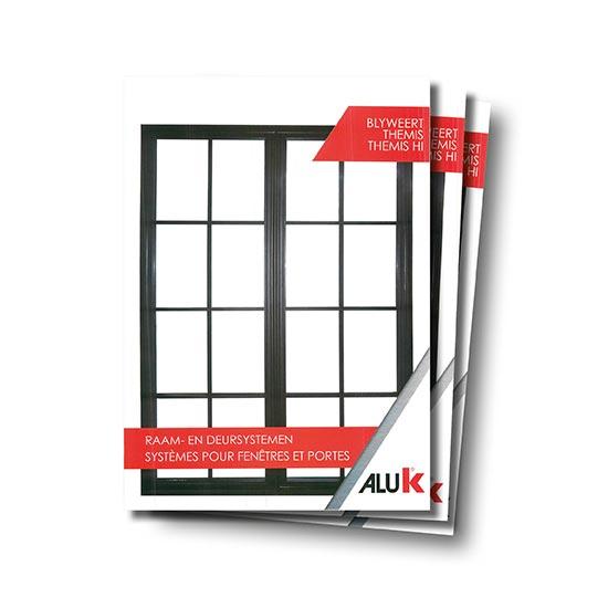 Themis aluminium raam profiel Aluk JJA