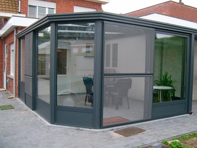 Foto veranda aluminium jja